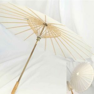 White Paper Parasol