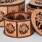 Protea Hexagonal Ring Box